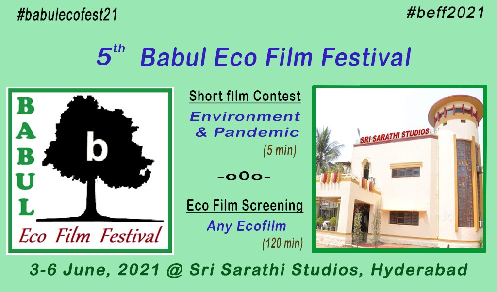 5th Babul Eco Film Festival BEFF 3-6 June 2021